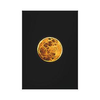 Toile Lune superbe éditée
