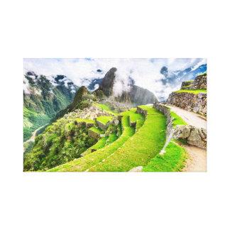 Toile Machu Picchu, Cusco - Pérou