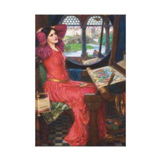 Toile Madame d'échalote par John William Waterhouse