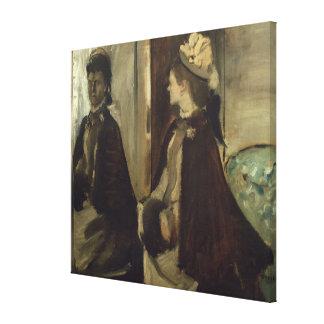 Toile Madame Jeantaud d'Edgar Degas | dans le miroir