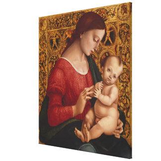 Toile Madonna et enfant, circa 1505-07