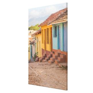 Toile Maisons résidentielles, Trinidad, Cuba