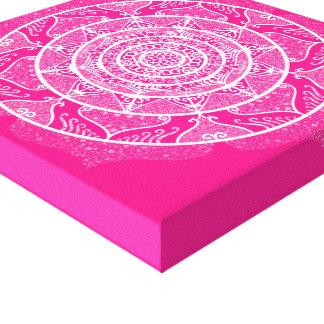 Toile Mandala de digitale