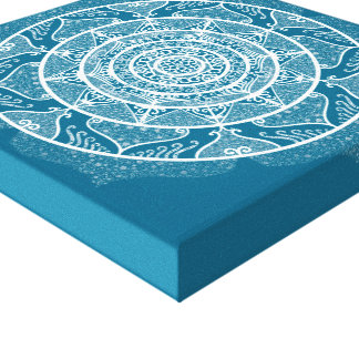 Toile Mandala de Tidepool