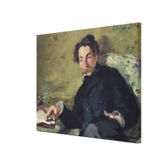 Toile Manet | Stephane Mallarme 1876