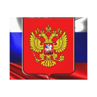 Toile Manteau des bras russe
