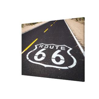 Toile Marqueur de route de l'itinéraire 66, Arizona