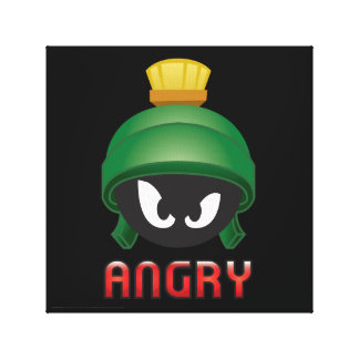 Toile MARVIN le MARTIAN™ Emoji fâché