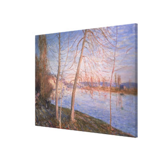 Toile Matin d'hiver d'Alfred Sisley  