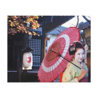 Toile Meiko à Kyoto