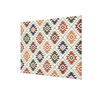 Toile Mélange de couleur de motif de RPT stylisé par