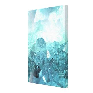 Toile Menthe de cristal