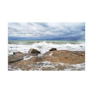 Toile Mer caspienne