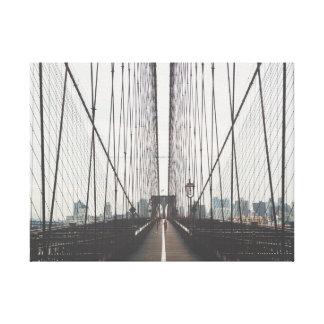Posters peinture pont brooklyn peinture pont brooklyn affiches art peinture - Toile pont de brooklyn ...