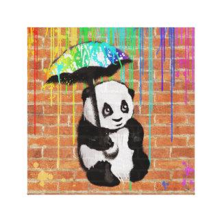 Toile Mon parapluie