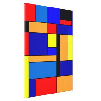 Toile Mondrian #2