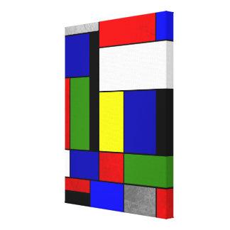 Toile Mondrian #4