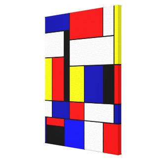 Toile Mondrian #42