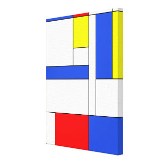 Toile Mondrian #47