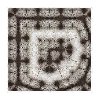 Toile Monochrome de rangée de crâne de moutons