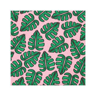Toile Monstera Leaf Canvas