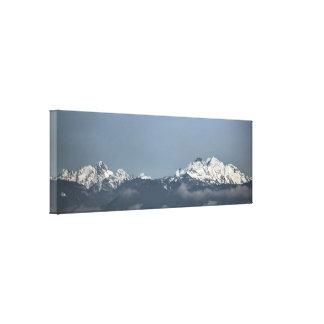 Toile Montagnes