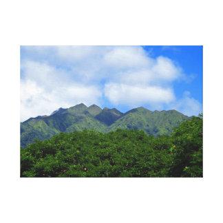 Toile Montagnes de Koolau