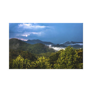Toile Montagnes de la Caroline