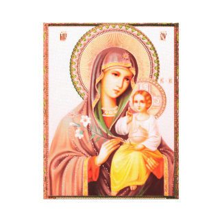 Toile Mother of God Russian icône