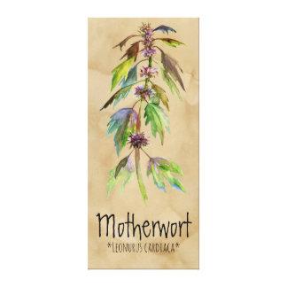 """Toile Motherwort magique de plantes 18,30"""" x 41,73"""""""