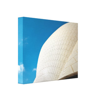 Toile Motif de toit de théatre de l'opéra de Sydney