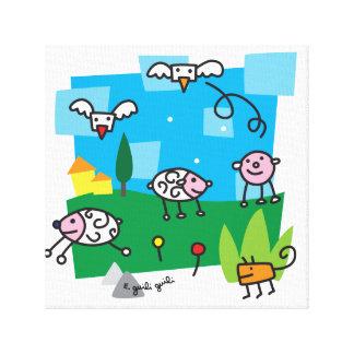 Toile moutons et Cie