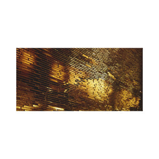 Toile Mur d'or