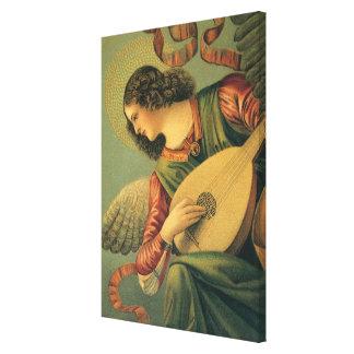 Toile Musicien d'ange, Melozzo DA Forli, art de