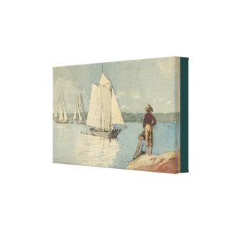 Toile Navigation claire vintage de Winslow Homer