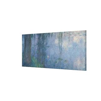 Toile Nénuphars de Claude Monet | : Saules pleurants,
