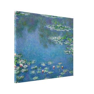 Toile Nénuphars par Claude Monet