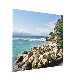 Toile No. 2 de paysage marin de Labadie