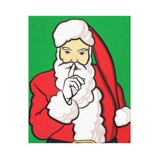 Toile Noël le père noël