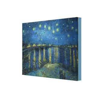 Toile Nuit étoilée au-dessus du Rhône Vincent van Gogh