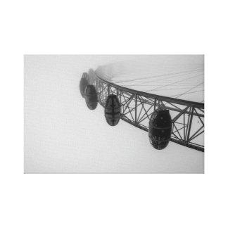 Toile Oeil de Londres en brouillard épais