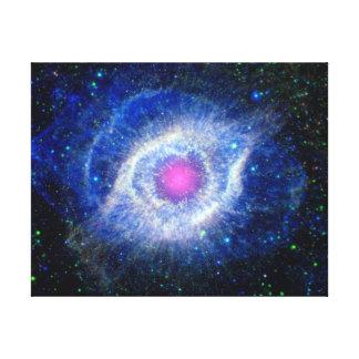 Toile Oeil ultra-violet de nébuleuse d'hélice de photo