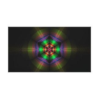 Toile Ondulations de fractale de réflexion