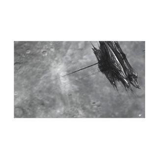 Toile Orbite lunaire