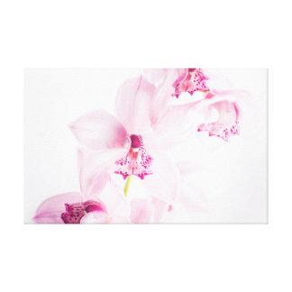 Toile Orchidée rose