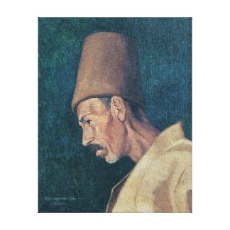 Toile Osman Hamdi Bey Kökenoğlu Rıza Efendi