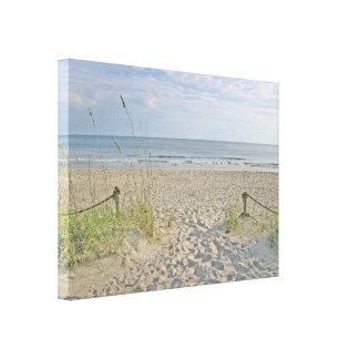 Toile Outre de à la plage