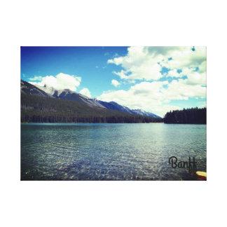 Toile paisible de Banff