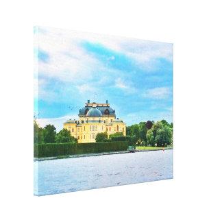 Toile Palais de Drottningholm en Suède