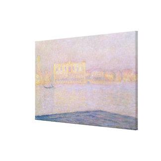 Toile Palais ducal de Claude Monet | de San Giorgio,